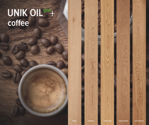 UNIK OIL green+ | coffee collection